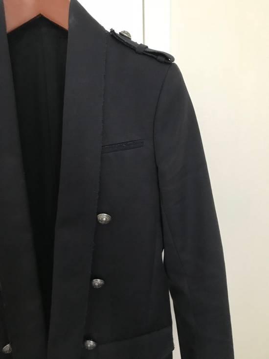 Balmain Raw Cotton Military Blazer / Jacket Size US S / EU 44-46 / 1 - 2