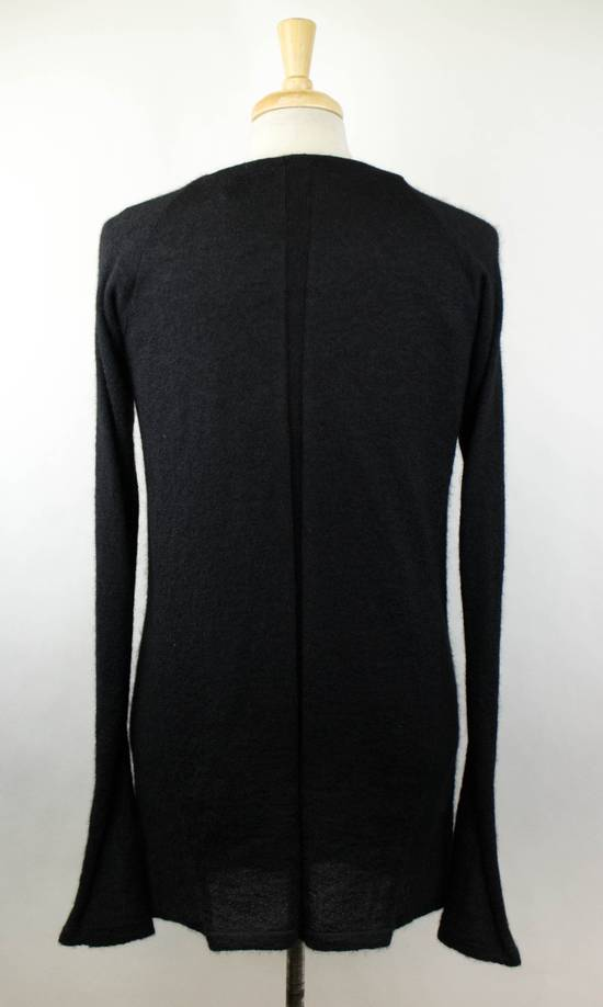 Julius 7 Black Silk-Mohair 'Square Neck Panelled' Sweater Size 1/XS Size US XS / EU 42 / 0 - 3
