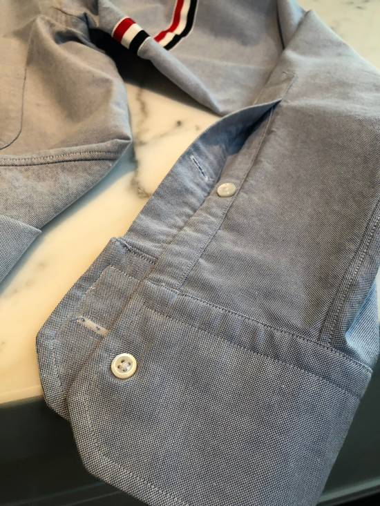 Thom Browne Thom Browne Armband Shirt Blue Size 3 Size US L / EU 52-54 / 3 - 5