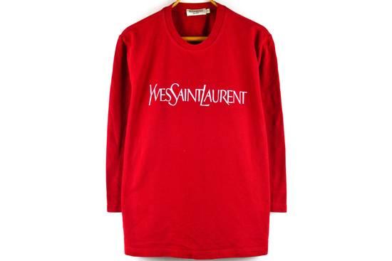 Saint Laurent Paris big logo red sweatshirt Size US L / EU 52-54 / 3