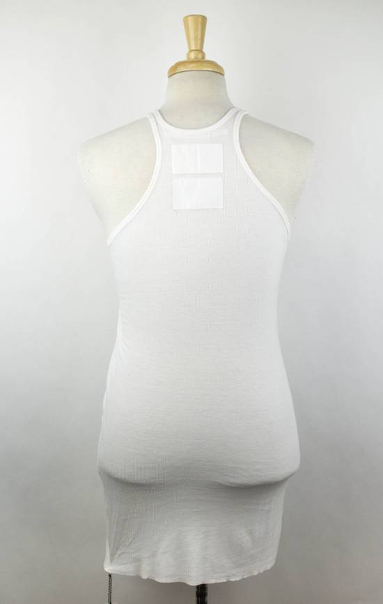 Julius 7 White Silk Blend Long Ribbed Tank Top T-Shirt Size 4/L Size US L / EU 52-54 / 3 - 2