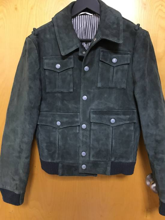 Thom Browne Suede military bomber jacket Size US S / EU 44-46 / 1