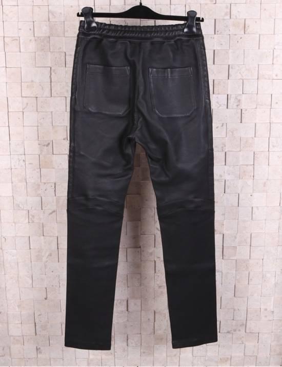 Balmain Leather Black Training Biker Size US 30 / EU 46 - 1