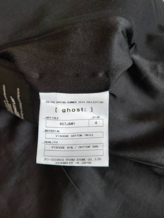 Julius Julius Blazer Jacket ( 457JAM1 ). Size 4. Black. Size US XL / EU 56 / 4 - 9