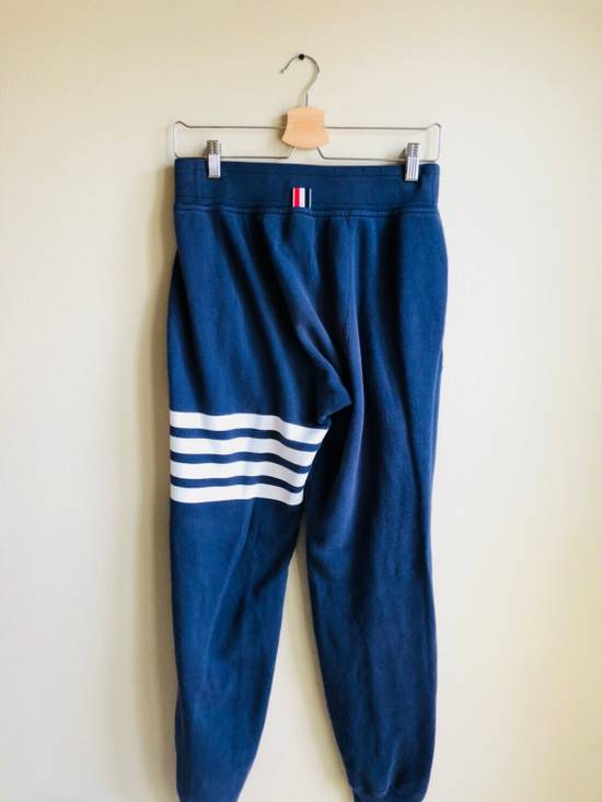 Thom Browne Navy Classic Four Bar Lounge Pants Size US 30 / EU 46 - 1