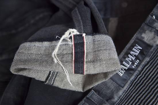 Balmain Selvedge biker denim jeans Size US 29 - 7