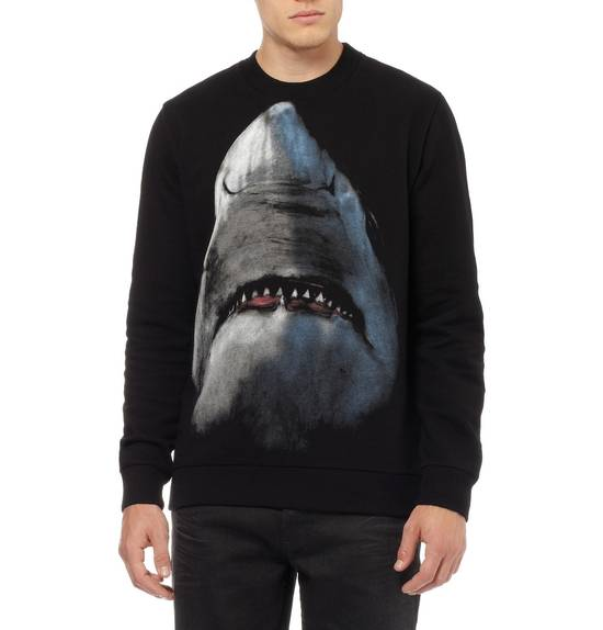 Givenchy Shark Print Sweater Size US L / EU 52-54 / 3 - 1