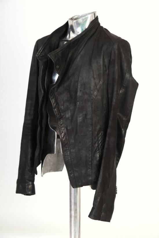 Julius Julius Dove Tail Leather Jacket EU46 Small Size 2 S/S 2012 Size US S / EU 44-46 / 1 - 2