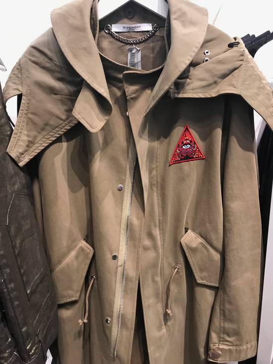 "Givenchy ""Real Lies"" Khaki Embroidered Parka Size US M / EU 48-50 / 2 - 1"
