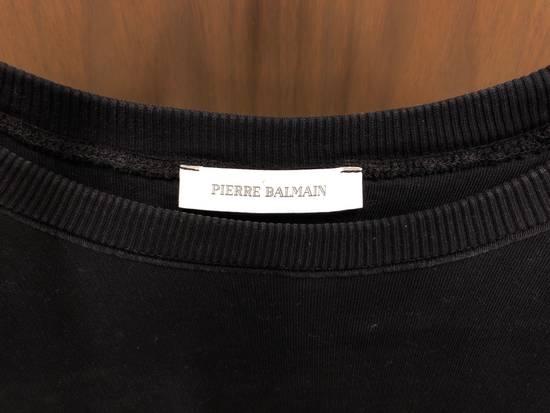 Balmain Black Oversized Balmain Biker Sweatshirt Size US L / EU 52-54 / 3 - 1