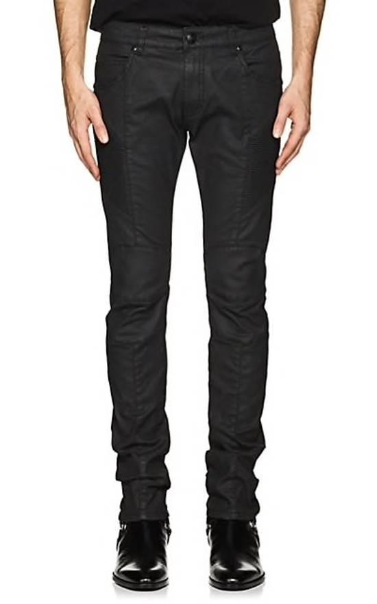 Balmain Pierre Balmain Coated Jeans Size US 30 / EU 46