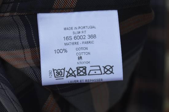 Givenchy Blue Plaid Stars Shirt Size US XL / EU 56 / 4 - 6