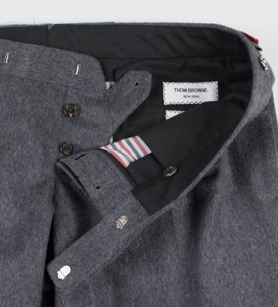 Thom Browne Gray Cashmere W/ Metal Spikes Casual Pants Size US 38 / EU 54 - 5