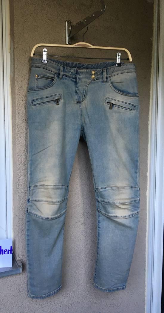 Balmain Womens Biker Jeans Size US 32 / EU 48 - 1