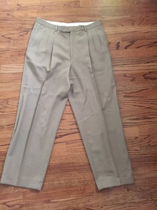 Givenchy Givenchy Beige Pleated Pants Size US 36 / EU 52