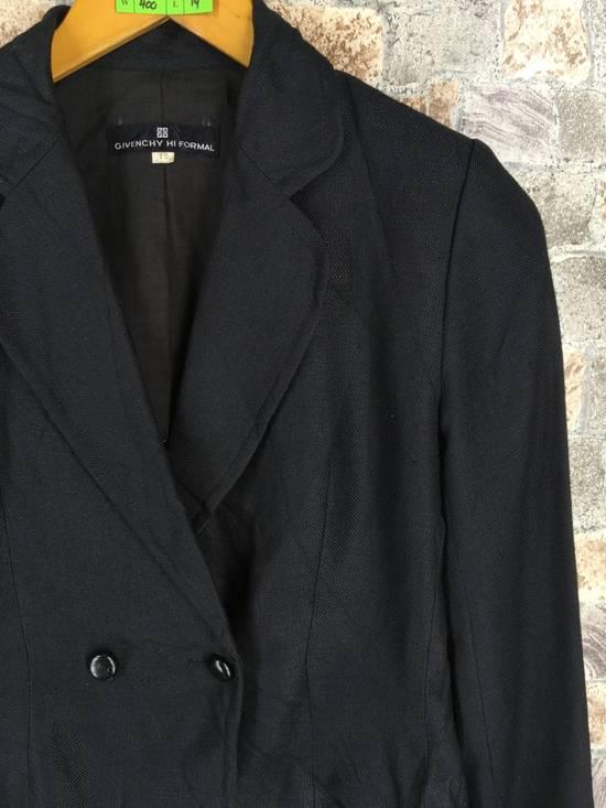 Givenchy GIVENCHY Ladies Coat Jacket Small Black Vintage Designer Givenchy Yohji Comme Des Buttondown Formal Blazer Cropped Women Size S Size US S / EU 44-46 / 1 - 3