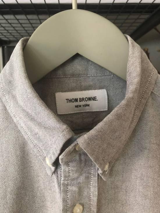 Thom Browne Oxford Classic Shirt Sz.2/M rare grey Size US M / EU 48-50 / 2 - 1