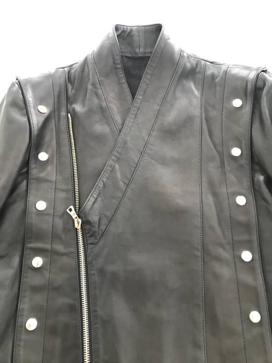 Balmain Balmain Black Leather Jacket Size US M / EU 48-50 / 2 - 5