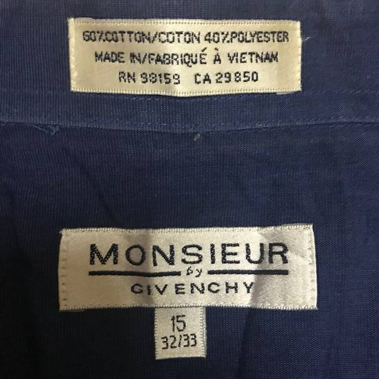 Givenchy Givenchy Buttons Up Shirt Blue Size US M / EU 48-50 / 2 - 2