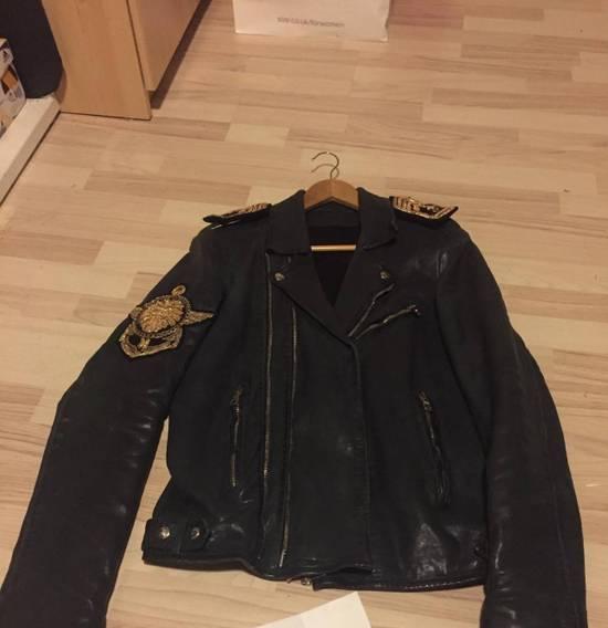 Balmain LAST DROP**Balmain Navy Biker Jacket Size US M / EU 48-50 / 2
