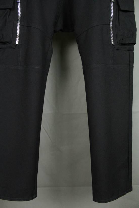 Balmain Balmain X H&M Cargo Biker Wool Pants Size EUR30 Size US 30 / EU 46 - 4