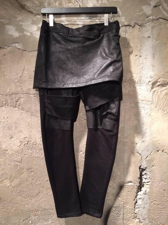 Julius Leather Skirt Pants Size US 34 / EU 50