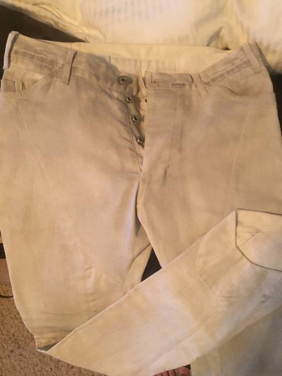 Julius Off white Moto Jean Size US 30 / EU 46 - 2