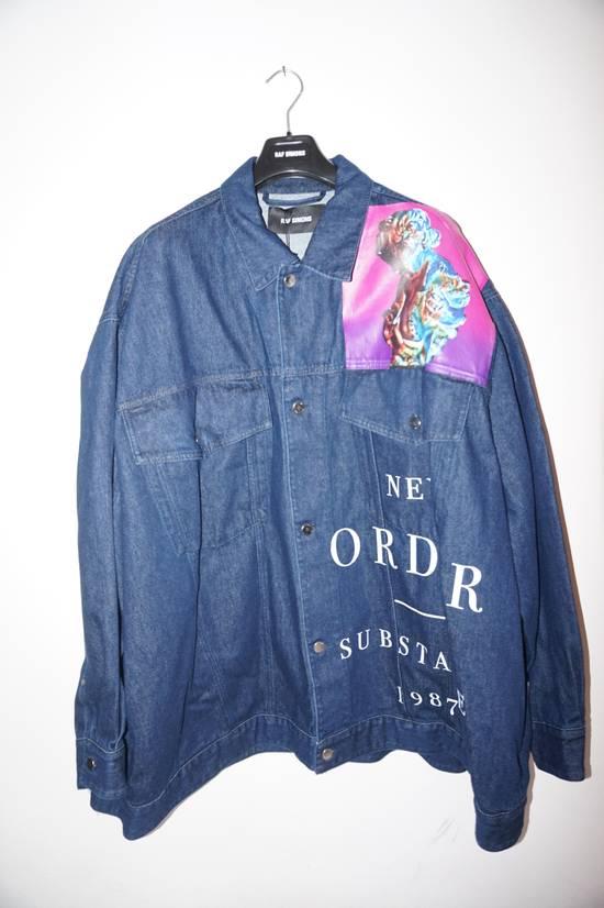 Raf Simons SS18 Raf Simons Oversized Denim New Order Jacket Size US S / EU 44-46 / 1 - 10