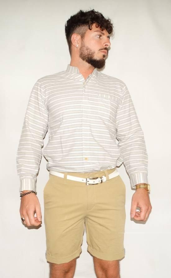 Balmain Balmain vintage 90's shirt Stripes stripped Grey Beige cream made in Japan size XS Size US XS / EU 42 / 0