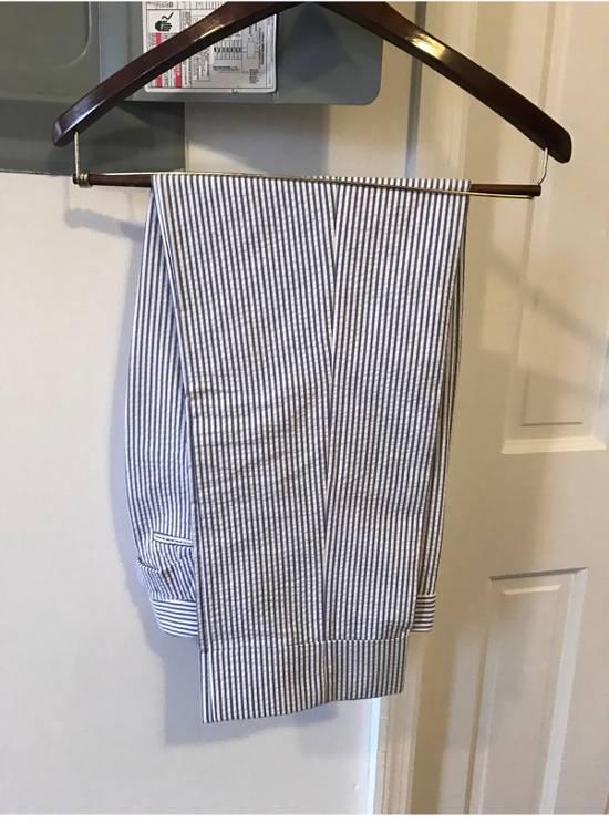 Thom Browne Classic Seersucker Suit Size 36S - 8