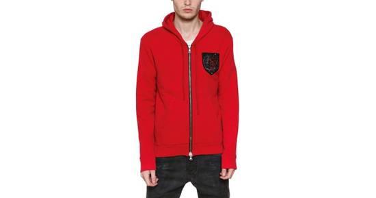 Balmain 12FW Red Hoodie Size US M / EU 48-50 / 2 - 5