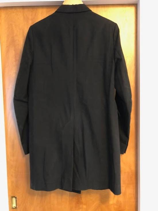 Balmain Decarnin-era black tailored overcoat/long blazer Size US M / EU 48-50 / 2 - 5