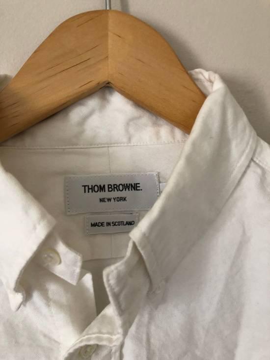 Thom Browne Thom Browne Embroidered Oxford Shirt Size US M / EU 48-50 / 2 - 1