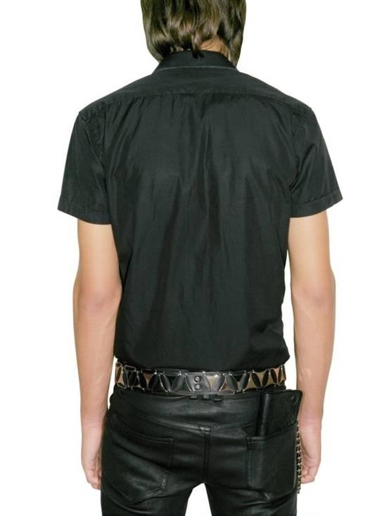 Balmain Metal Badge Poplin Shirt Size US M / EU 48-50 / 2 - 1