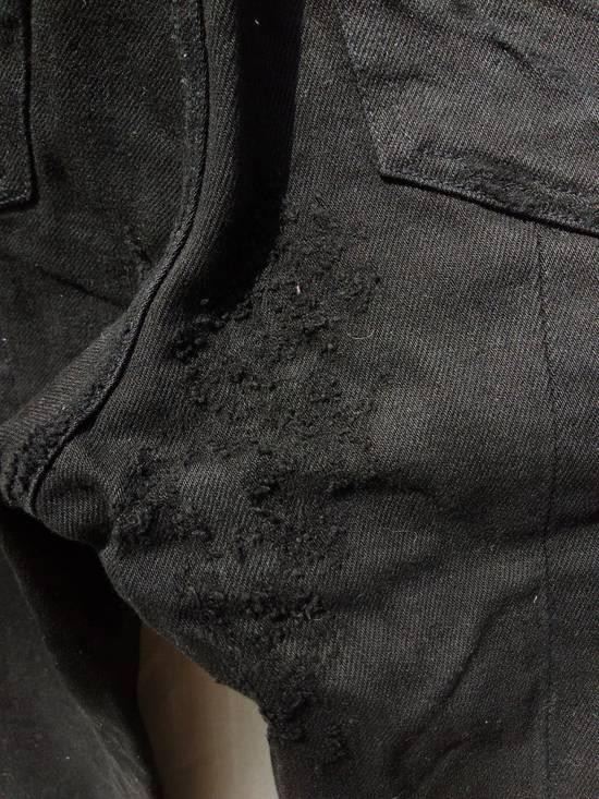 Julius Goth_ik Black Zip Hem Jeans Size US 31 - 5
