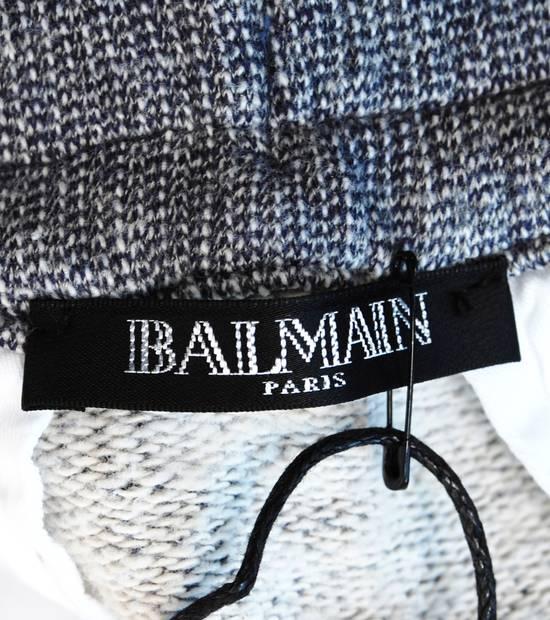 Balmain Original New Balmain Baggy Crotch Grey Men Trousers Sweat Pants in size M Size US 32 / EU 48 - 7