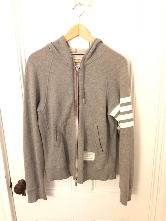 Thom Browne Thom Browne Grey Classic Full Zip Hoodie Size 2 Size US S / EU 44-46 / 1