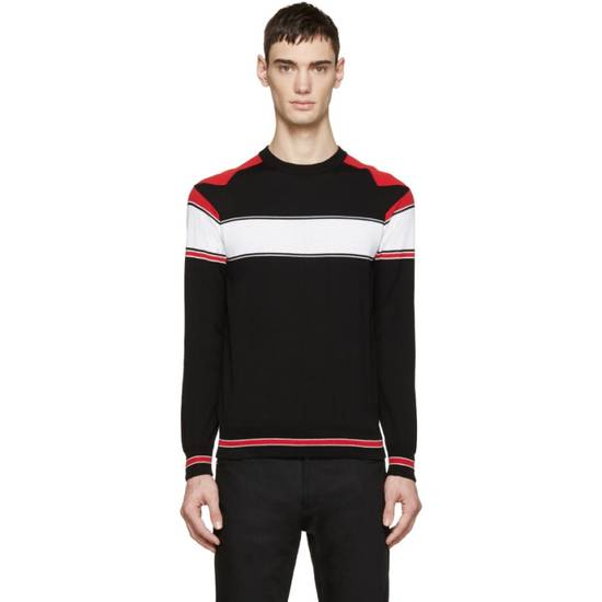 Givenchy Tricolor Knit Star Sweater Size US XS / EU 42 / 0