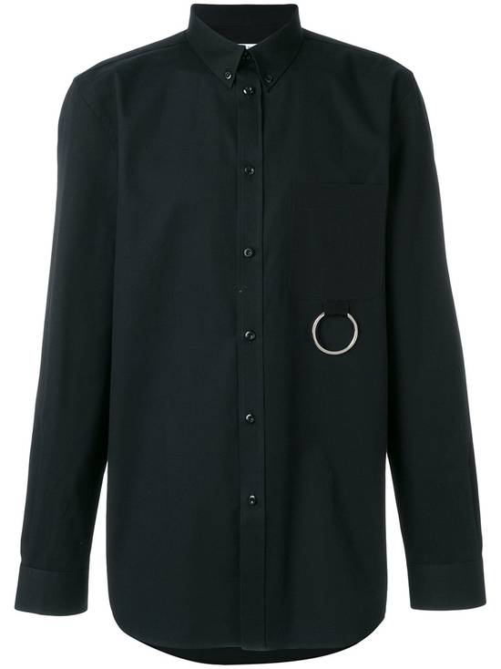 Givenchy Black Metal Ring Pocket Shirt Size US L / EU 52-54 / 3 - 1