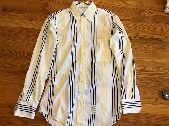 Thom Browne Slim Striped Shirt Size US S / EU 44-46 / 1