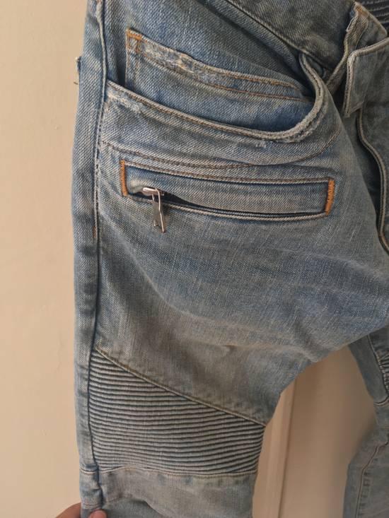 Balmain Balmain Bikers Sand Wash Jeans Size US 28 / EU 44 - 3