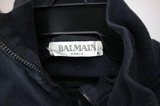 Balmain Vintage Balmain Paris Sweatshirts Zip Up Black Color Small Logo Spellout size 38 Size US S / EU 44-46 / 1 - 5