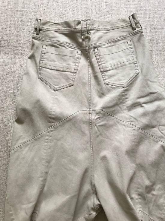 Julius AW14 painted low crotch denim cropped pants Size US 32 / EU 48 - 7