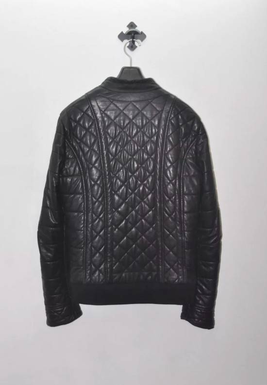 Balmain Quilted Biker Leather Jacket Size US S / EU 44-46 / 1 - 1