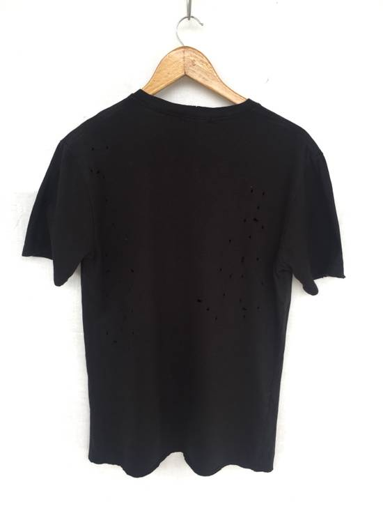Balmain [ LAST DROP ! ] AW2011 Distressed Black Shirt Size US M / EU 48-50 / 2 - 5