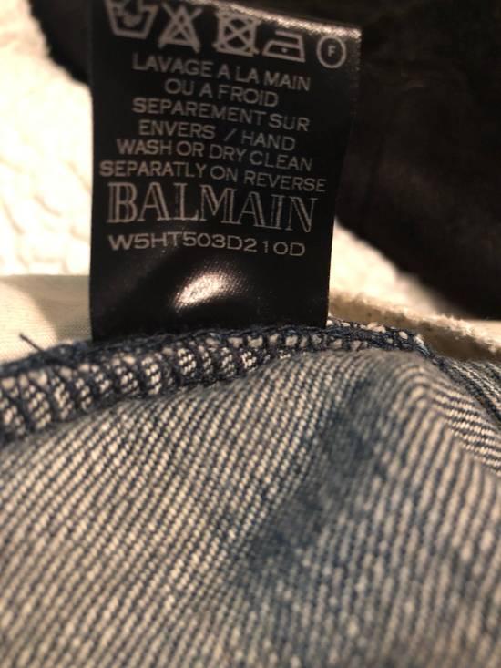 Balmain Biker Jeans Size US 34 / EU 50 - 8