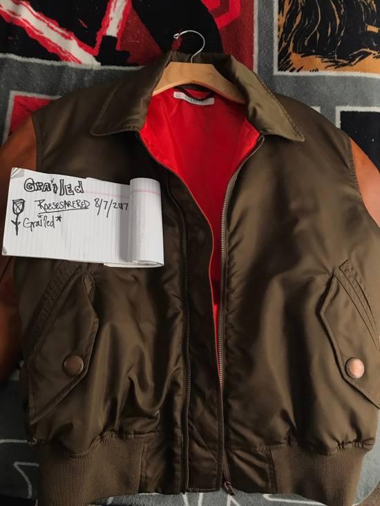 Givenchy Givenchy Auburn/Olive Leather Bomber W Red Satin Inside Size US M / EU 48-50 / 2 - 3