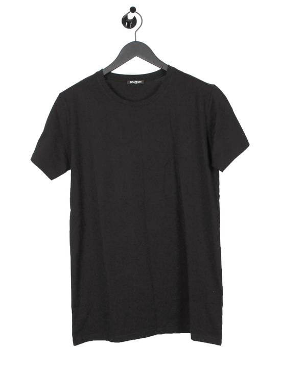 Balmain Original Balmain Crewneck Black Men T-shirt in size L Size US L / EU 52-54 / 3