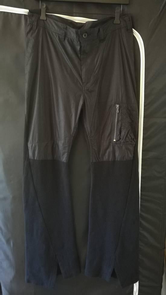 Julius BNWT 2017SS Limited Cargo Slit Cut Flare Wide Pants Size US 32 / EU 48