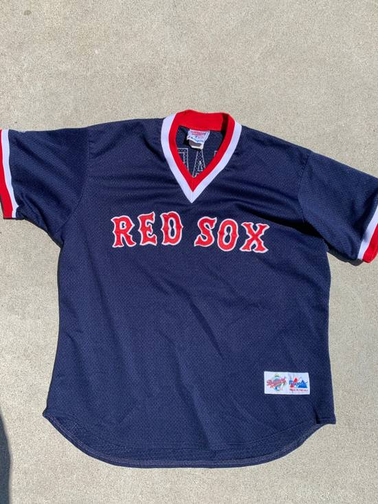 new product 7f5c9 238cb Red Sox Made In USA Majestic Garciaparra Shirt Jersey